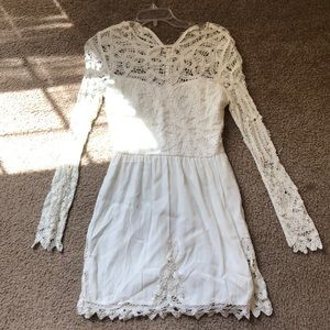 SAYLOR || ✨White Lace Dress✨